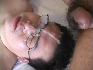 Asian Observe Faicial Cumshot